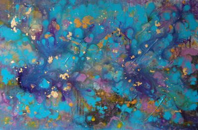 Coral Garden - Contemporary Painting Modern Abstract Art  by T A Marrison