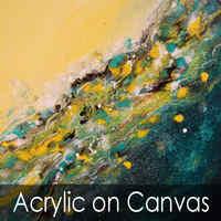 <!-060->Acrylic on Canvas