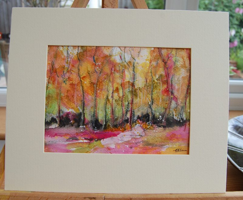 Shipley Wood Watercolour