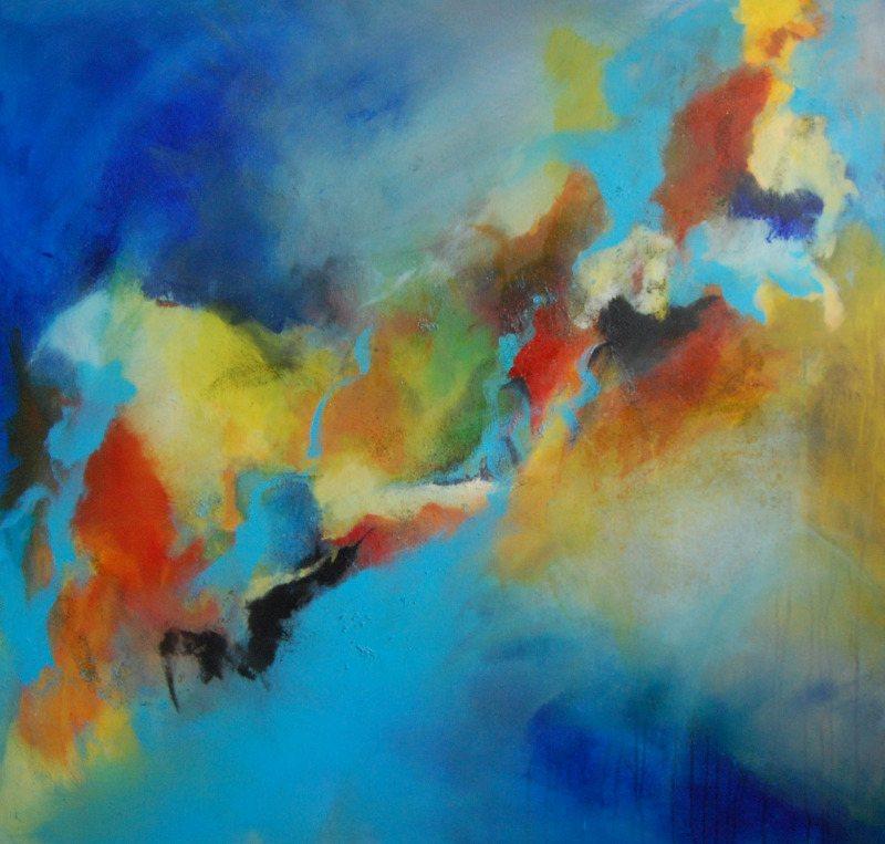 Award winning painting - New Beginnings