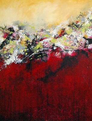 Strata 21 - Contemporary Abstract Painting