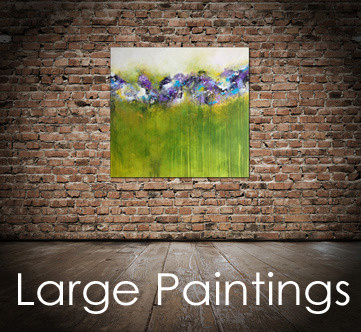 Large abstract paintings, modern abstract art