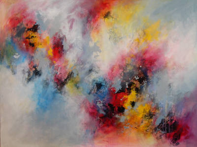 Emergence (Strata 32) - Very Large Original Contemporary Painting on Canvas