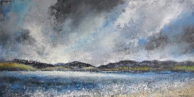 Stormy Sky, Luskentyre, Harris