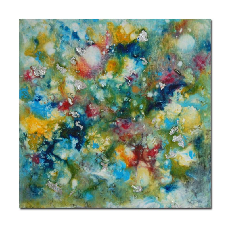 small original abstract painting on canvas