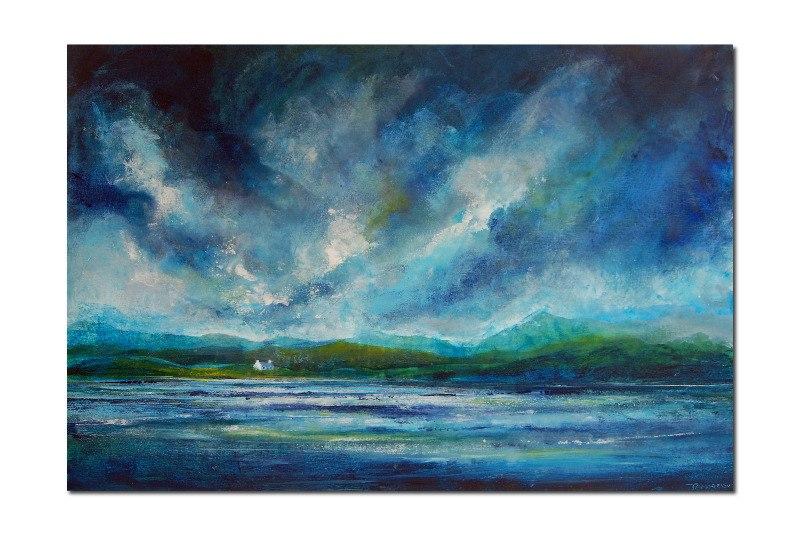 Abstract Scottish Seascape