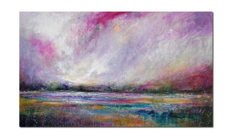 Extra Large Original Abstract Landscape Painting
