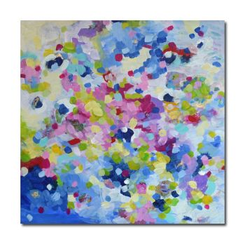 Delphinium - Original Abstract Expressionist Painting