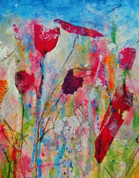 Art Print Colourful Meadow Fine Art Print