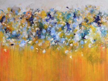 Strata 41 - Large Original Abstract Expressionist Painting on Canvas