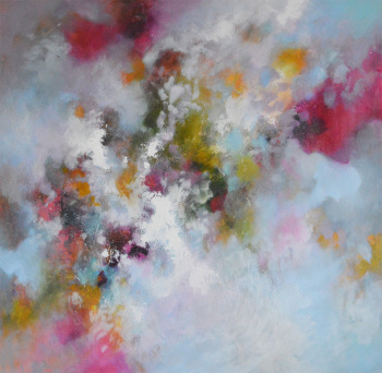 Strata 42 - Large Original Abstract Expressionist Painting on Canvas