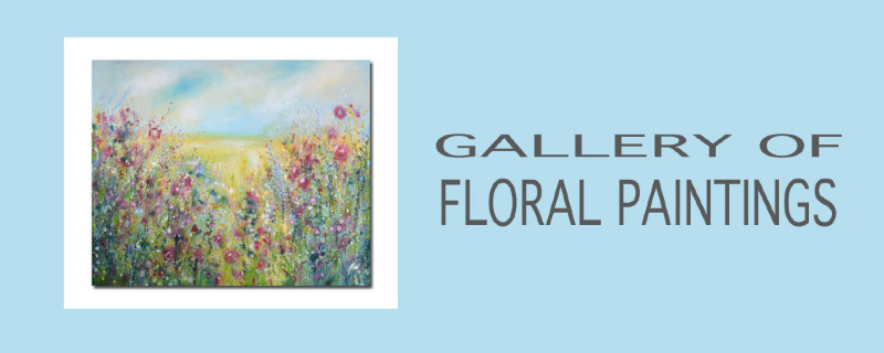Original Floral Paintings