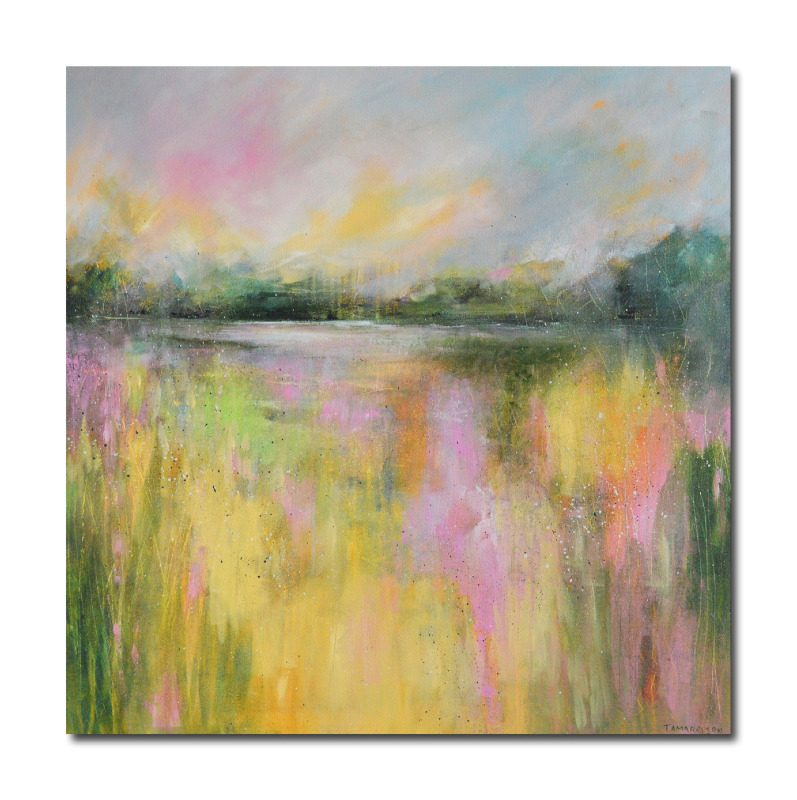 Large original abstract landscape paintings