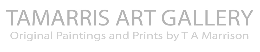 TAMARRIS ART GALLERY, site logo.