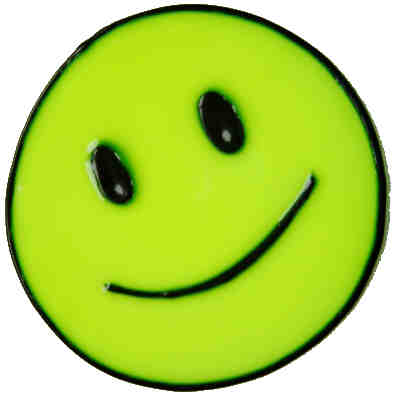 463 - Happy Face - Handmade peelable window cling decoration