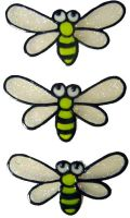 908 - Little Bees handmade peelable window cling decoration