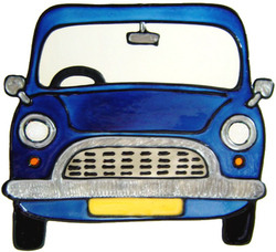 801 - Mini - Handmade peelable window cling decoration