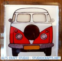 1308 - Campervan Coasters (95mm square)