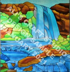 440 - Special Design - Waterfall for Zoe Charlton