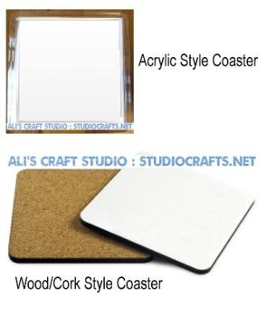 Blank Coaster Styles