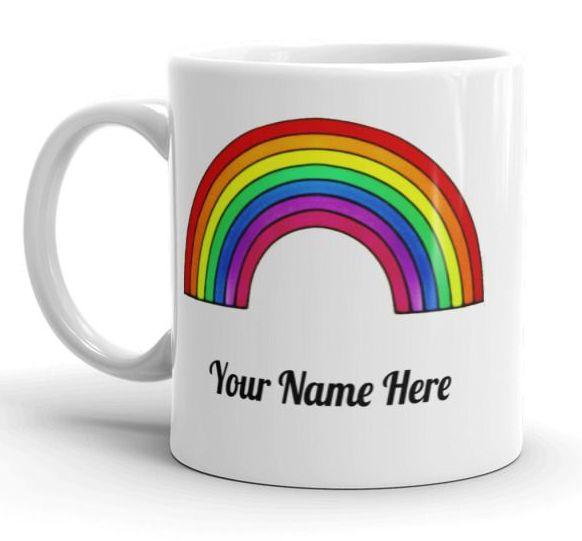 Personalised Rainbow Left