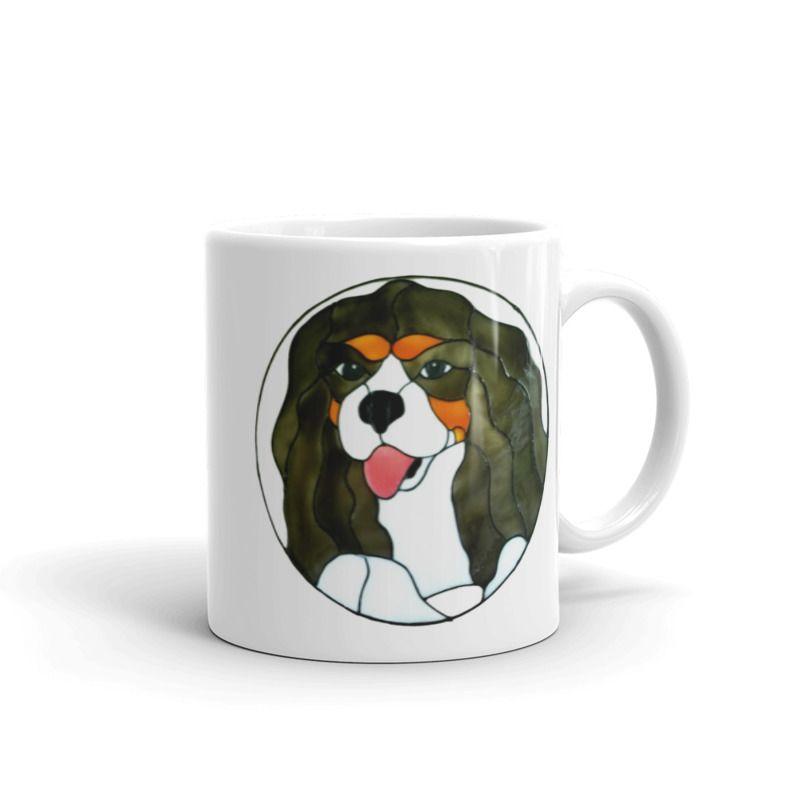 1319 - 11oz Printed Ceramic Mug - Cavalier King Charles Spaniel