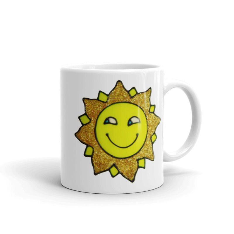1319 - 11oz Printed Ceramic Mug - Sunshine
