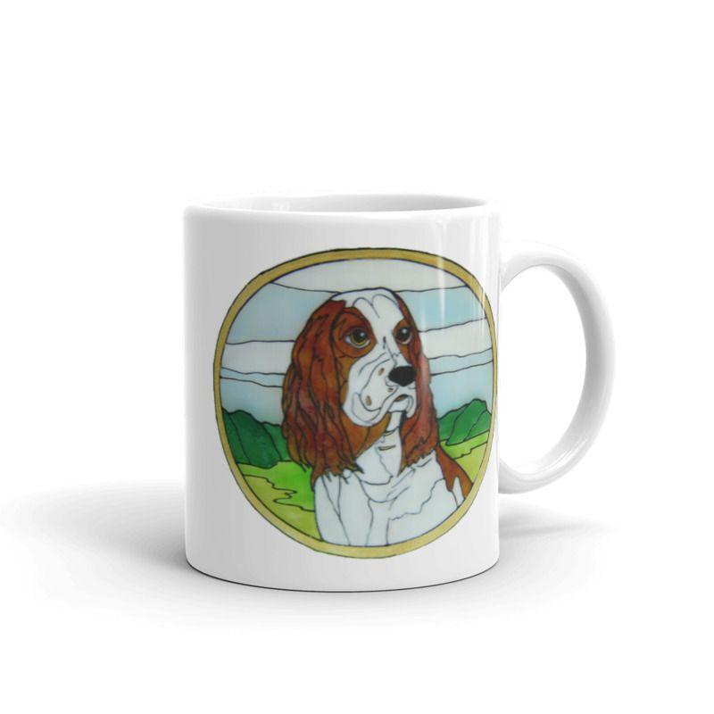 1319 - 11oz Printed Ceramic Mug - Spaniel