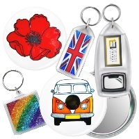 Keyrings, Magnets, Badges & Mirrors