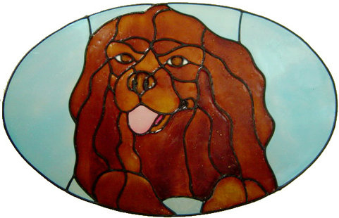 Peelable Window Decoration - Cavalier King Charles Spaniel