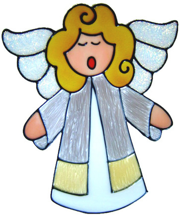 Ref 231 - Singing Angel Christmas Decoration