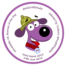 #Purplebiz Double Badge