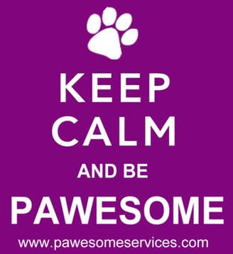 440 - KEEP CALM & BE PAWESOME