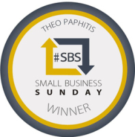 986 - Standard Size Award Window Cling or Sticker