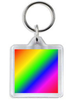 776 - Standard Rainbow Keyring