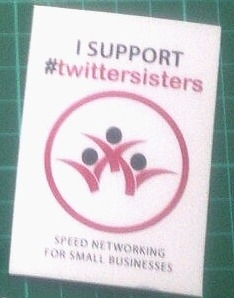 1026M - twittersisters/twitterbrothers Supporters Magnet
