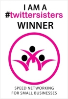 1029C - twittersisters Winners Window Cling