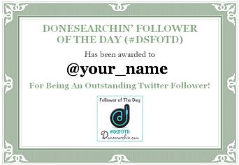 #dsfotd certificate (blank)