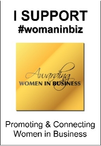 1026C - WomanInBiz Supporters Window Cling