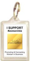 1026K - WomanInBiz Supporters Keyring