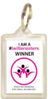 1029K - twittersisters Winners Keyring