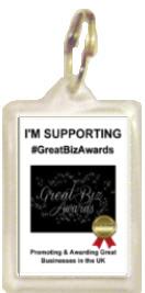 1026K - GreatBizAwards Supporters Keyring