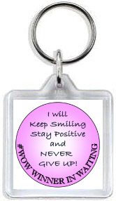 993 - #WOW Winner in Waiting Keyring