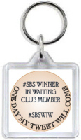 993 - #SBS Winner in Waiting Keyring #2