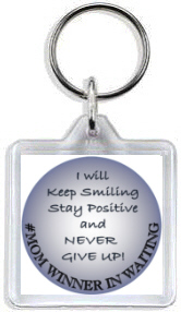 993 - #MOM Winner in Waiting Keyring