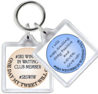 993 - #SBS Winner in Waiting Duo Keyring (one keyring with two images)