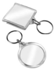 1006 - Company Logo Keyring