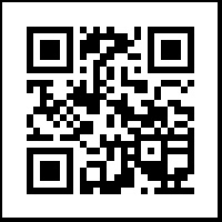 985QR - Business QR Code Cling or sticker (Large)