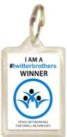 1029K - twitterbrothers Winners Keyring