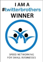 1029C - twitterbrothers Winners Window Cling